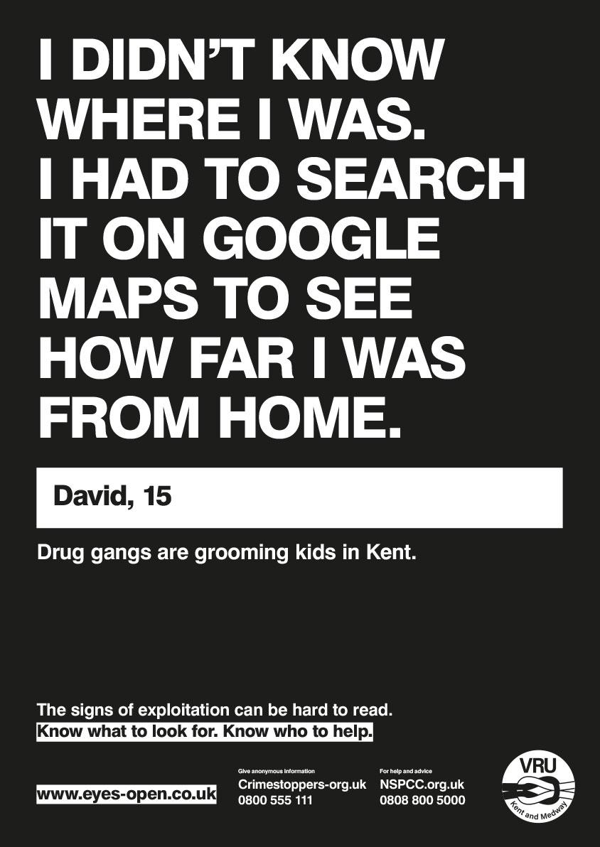 02 Google maps A3 poster External