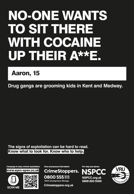 03 Cocaine A4 poster Internal